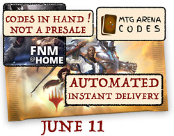 MAGIC MTG Arena code card FNM Home Promo Pack MAY 14 INSTANT MAIL...