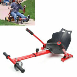 Hover Kart Go Karts Cart Racing Seat For Two Wheel Red Eletric Scooter