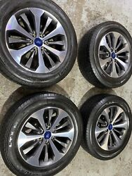2004-20 Ford F150 20andrdquo Factory Oem Grey Machined Wheels Rims Tires Excellent Con