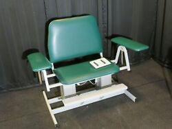 Electric Powered Bariatric Blood Draw Chair Medcare Mfg12-cuxxp