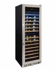 Wine Enthusiast 150 Bottle Dual Zone Wine Cellar With Vinoview Display