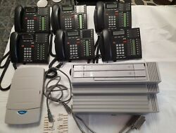 Nortel Networks Phone System Norstar Compact Ics Call Pilot 100 And 6 Phones