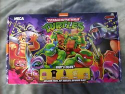 Neca Tmnt Stern Pinball Crate New Xl In Hand Ready To Ship
