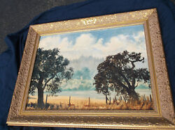 William Posey Silva California Landscape Oil Many Museumstennessee South