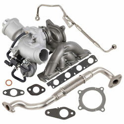 For Audi A4 2.0t Bwt 2005-2009 Turbo Kit With Turbocharger Gaskets Oil Line Csw