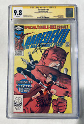 Daredevil 181 1982 Cgc 9.8 Ss 🔥 X2 Signed Cox Yung 🔥 Death Electra 🔑 Key