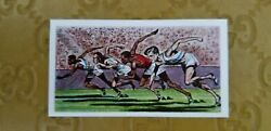 1959 Comet Sweets Olympic Achievements Card Jesse Owens Usa No. 38 Vgc/nm