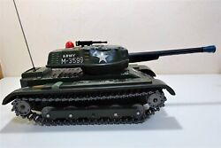 M-3599 Tin Plate Can Toy Tank Military Armored Vehicle Toy Tinplate Tin Plate