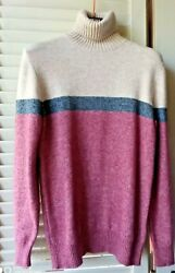 Luxury Kangra Sweater Manager Doctor Rare Sz M / L Nuova New With Tag Wool Comf
