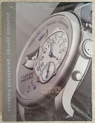 Rare F.p. Journe Souveraine Grande Sonnerie Watch Chiming Sound Book New Sealed