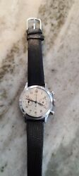 Vintage Gallet And Co.17 Jewel Acier Inoxydable Working Condition