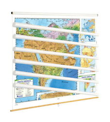Nystrom Land Cover Eastern Hemisphere Maps With Spring Roller