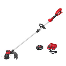 Milwaukee Straight Shaft String Trimmer Weed Eater M18 Charge 18v Battery 6ah