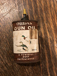 Vintage Outers Gun Oil Can Mallards 3 Oz Little Used