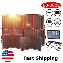 Foldable 300w Portable Solar Panel High Efficiency Camping Outdoor Power Station