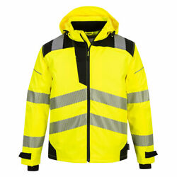New 10 Pack Of Portwest Pw360 - Pw3 Extreme Breathable Rain Jacket Sizes S-4x