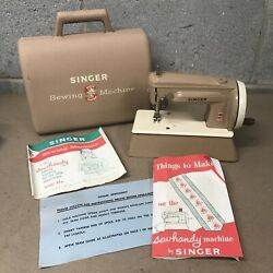 Singer Vintage 1960s Childs Sewhandy Sewing Machine Model 40k Case Instructions
