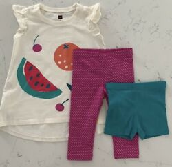 Tea Collection 2 New Without Tags And 1 Nwt Size 3t