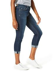 Signature By Levi Strauss And Co. Womenand039s Modern Mid Rise Capri Size 18