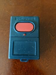 Vintage Clicker Single Red Button Garage Door And Gate Remote Opener Fob Kutlsct
