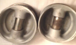 Airplane Engine Pistons 2 Made By Lycoming Stamped 36 And M.3 2 And 4