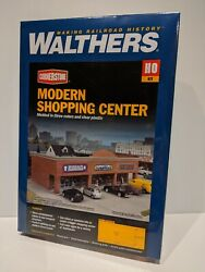 Walthers 933-4115 Modern Shopping Center Ho Scale New