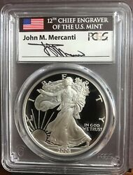 2006-w Silver Eagle 20th Anni Pcgs Pr70dcam First Strike John Mercanti Pop10