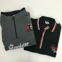 2 Chase Authentic Winner Circle Polo Dale Earnhardt 3 Intimidator Nascar Sz L