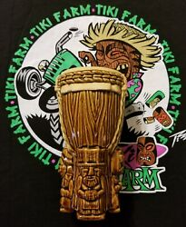 New Tiki Farm Drum Of The Forefathers 2012 Tank Drummer Mug Large Capacity