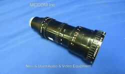 Angenieux Zoom Type 6 X 9.5b C-mount Lens 9.5-57mm - Untested As Is