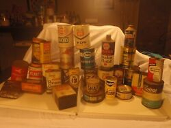 Vintage Cans - Lot 1 - Mobil, Sunoco, Atlantic, Esso And More