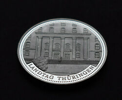 Germany Proof Medal German Federal State Mark Free State Thuringia 0.8oz