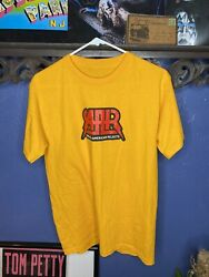 All American Rejects T Shirt Yellow Y2k Mens Large Preowned Aar