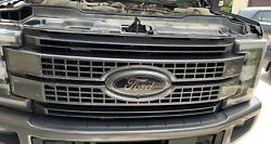 2017-2019 Ford Superduty Platinum Painted Grill With Camera Badgeandnbsp