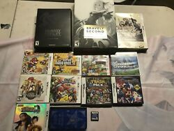 Nintendo 3ds Lot-persona Q Console With Games Bravely Default, Mario And More