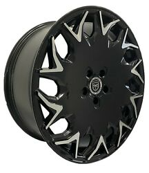 4 Gwg Gv06 20 Inch Gloss Black Rims Fits Jeep Grand Cherokee Limited 2014-2018