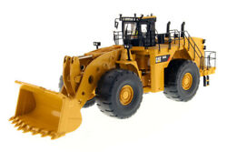 Dcm85257 - Caterpillar 993k On Tires Wood Rockers Of Figurine And Of Box E