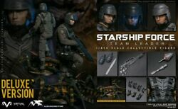 Vts Toys Vm037dx 16 Starship Force-team Leader Soldier Figure Deluxe Ver.toy