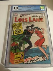Superman's Girlfriend Lois Lane 70 Cgc 5.5 1st Appearance Silver Age Catwoman