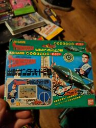 Fd1426 Bandai Thunderbirds Lsi Hand-held Game New Never Played Great Shape
