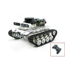 Tracked Vehicle Ros Car Robotic Car No Voice Module W/ A1 Customized Radar New