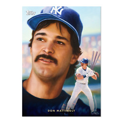 DON MATTINGLY 2021 TOPPS Game Within The Game # 6 New York Yankees