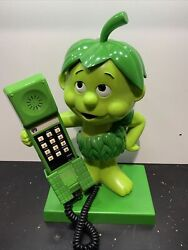Little Green Sprout Jolly Green Giant Collectible Phone Vintage 1984 Free Ship