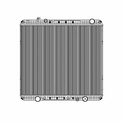 Fits A 2012 2013 2014 Freightliner W95, 114sd Radiator