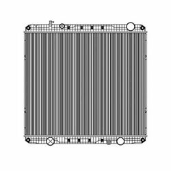 Fits A 2012 2013 2014 Freightliner 114sd Radiator Heavy Duty