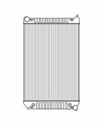 04-08 For Freightliner M2 100 106 112 Series Radiator Plastic And Aluminum 10148pa