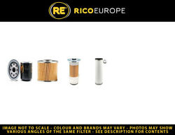 Filter Service Kit Air- Oil- Fuel Filters S/n 110 Fits Tractor 1050