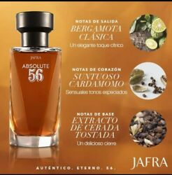 Jafra Absolute 56 Eau The Toilette For Men 3.3oz New In Box