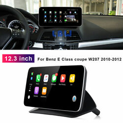 12.3 Android Car Dvd Gps Stereo For Benz E Class Coupe W207 2010 2011 Radio
