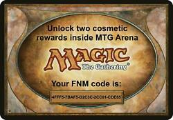 MAGIC MTG Arena code card FNM Home Promo Pack MAY 7 📩INSTANT EMAIL📩